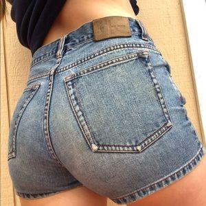 Calvin Klein High Rise Shorts